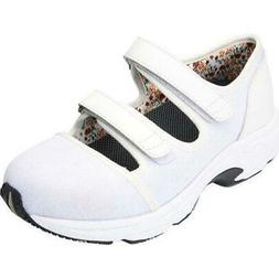 $146 Drew Shoes SOLO Womens 12.5WW Extra Wide White Mary Jan