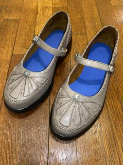 Dr. Comfort Paradise Pewter Strap Loafers Diabetic Shoes Wom