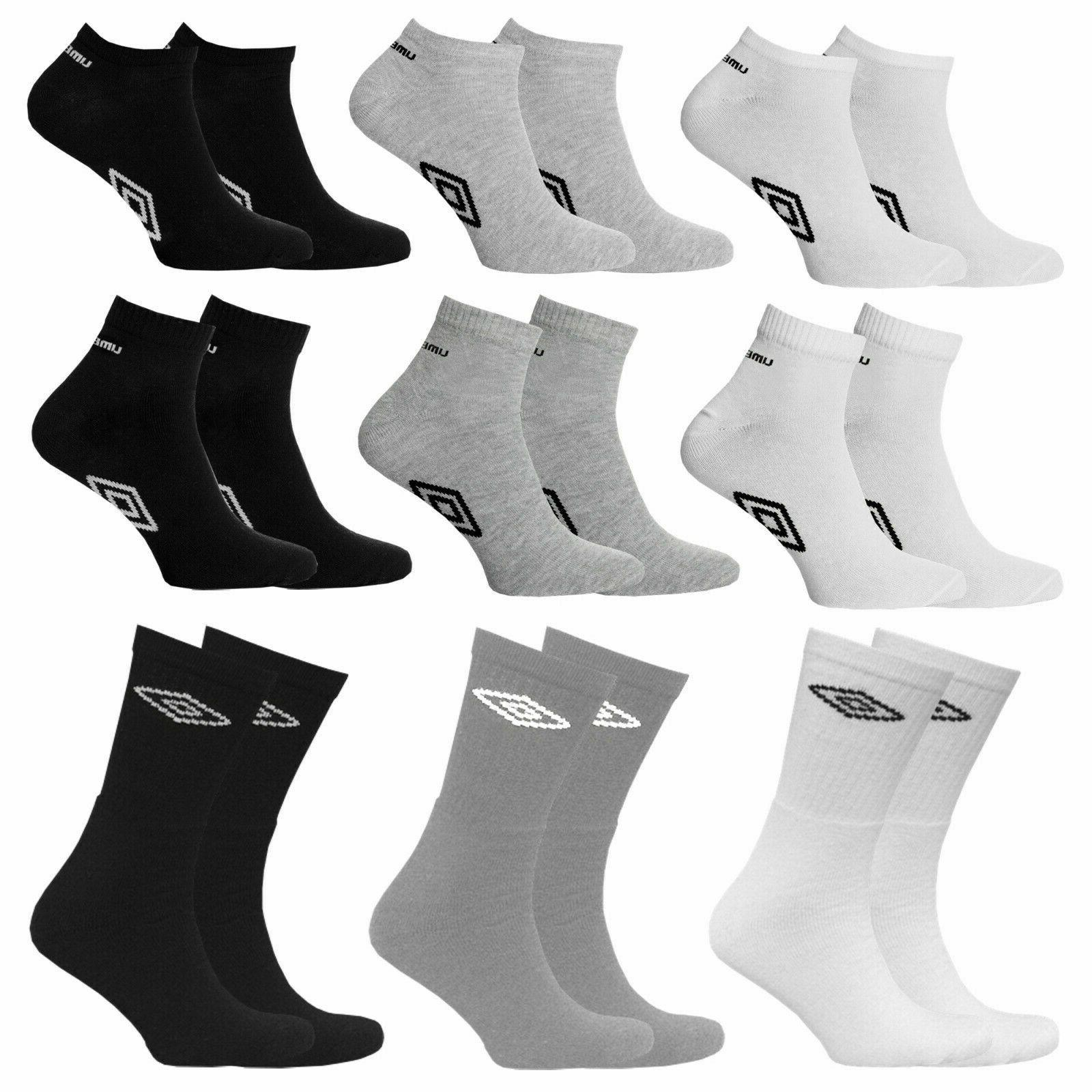 3 6 pairs mens official trainer liner