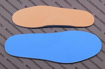 """Diabetic Insoles arch support 1/4"""" Dual fits Shoes Boots"""