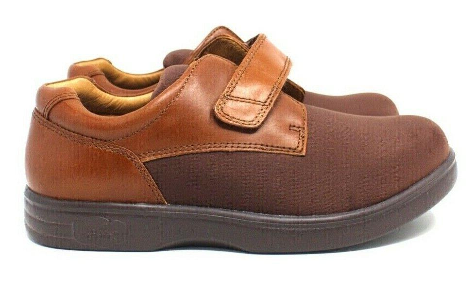 Dr 8XW Therapeutic Diabetic Walking Shoes Brown