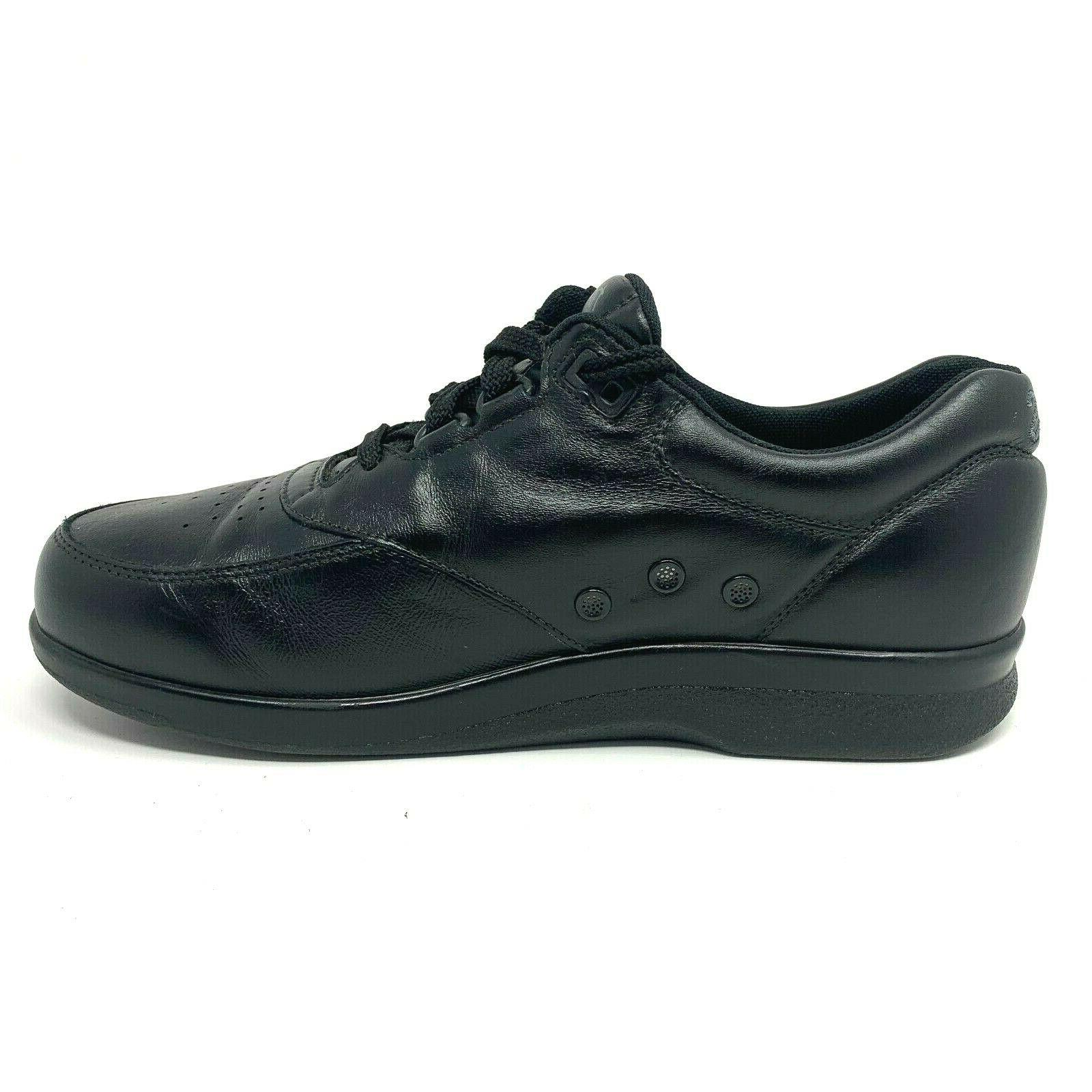 SAS Size Black Time Out Leather Support