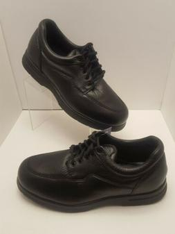 Mens Drew Black Walker II Shoes Oxfords Orthotic Diabetic Si