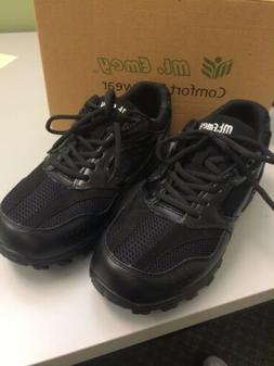 Mens Shoe Size 10.5 Black Sneaker X-wide Orthopedic Diabetic