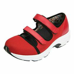 Drew Solo Therapeutic Athletic Shoes Women's Size 8XW Red Di