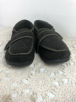 W&Lesvago Diabetic Slippers, Easy On Off Closure Shoes for E
