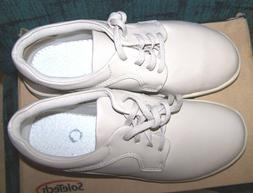 WOMENS DIABETIC SHOES 7M LEATHER CASUAL COMFORT WORK OXFORD