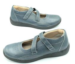 Drew Womens Size 11 N Orthotic Diabetic Shoes Blue Leather N